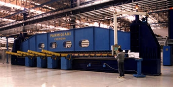 Picture of Parmigiani  3-roll special roll-press for aircraft applications