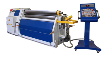 Picture of Americor  3-Roll, Single-Pinch Plate Bending Rolls